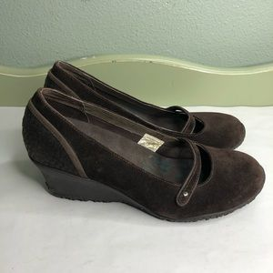 Merrell shoes maryjanes wedges women size 7.5